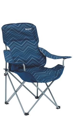 Outwell Black Hills - Siège camping - bleu